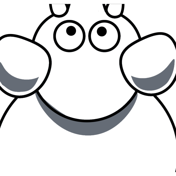 Elephant Top View PNG Clip art