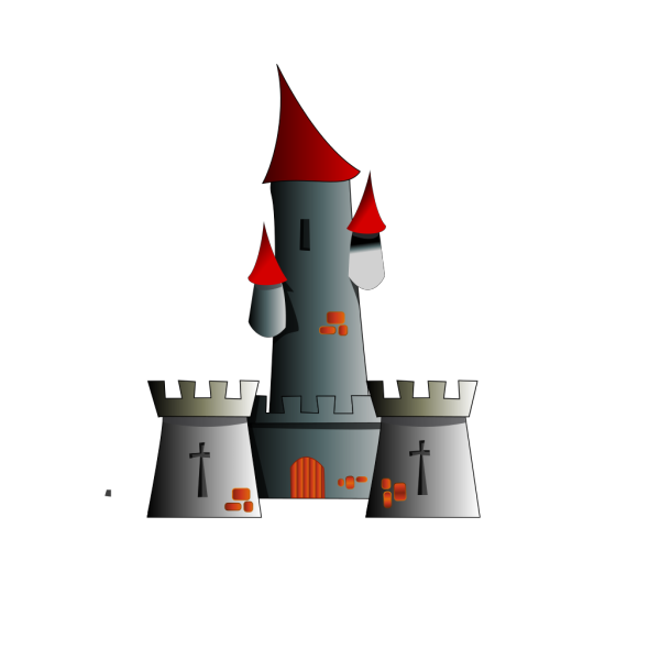 Chateau Citadel Fort Castle PNG Clip art