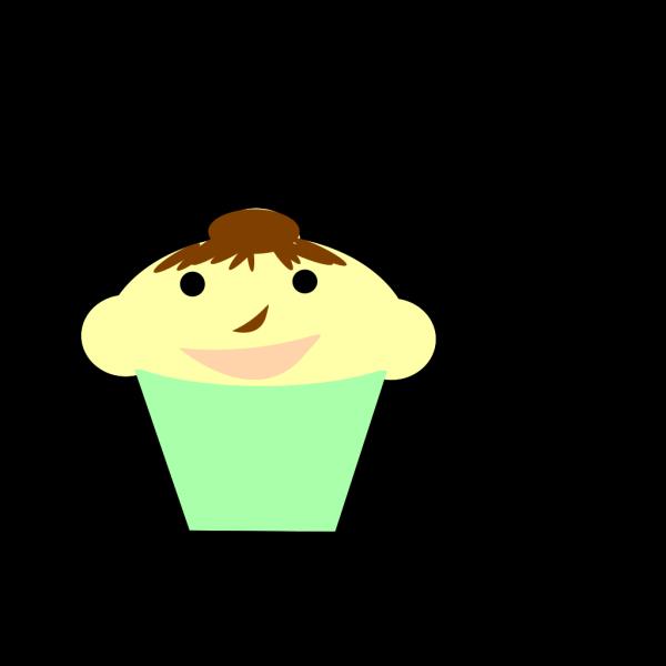 Cupcake Greenn PNG Clip art
