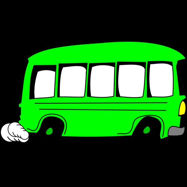 Green Bus PNG Clip art