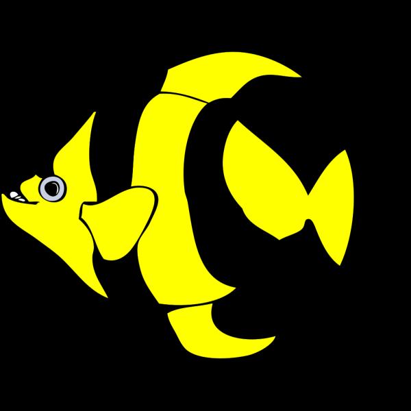 Peixe Listrado 01 PNG Clip art