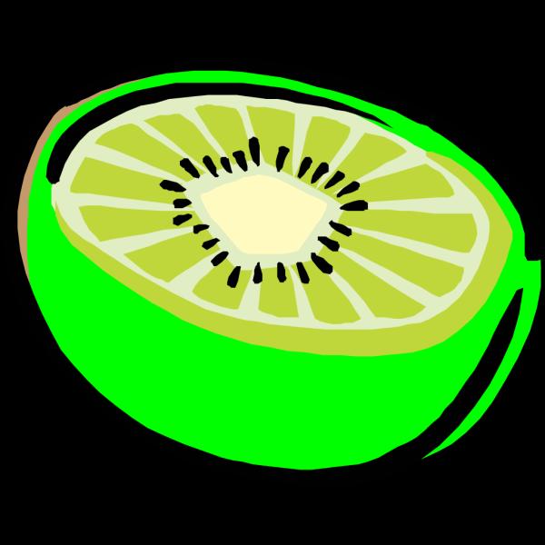 Bright Kiwi PNG Clip art