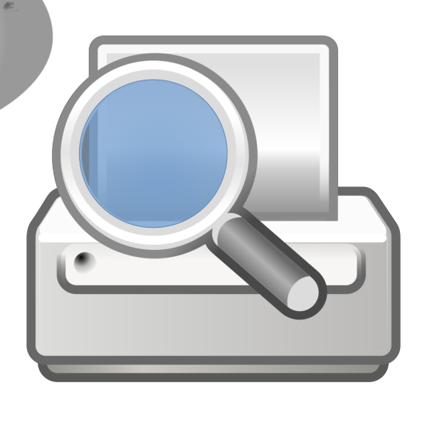 Document Print Preview PNG images