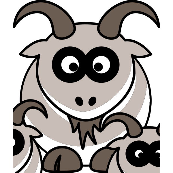 Baby Goats PNG Clip art