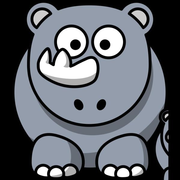 Rhino Baby PNG Clip art