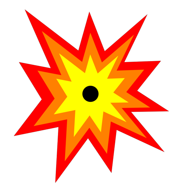 One Eyed Sun PNG Clip art