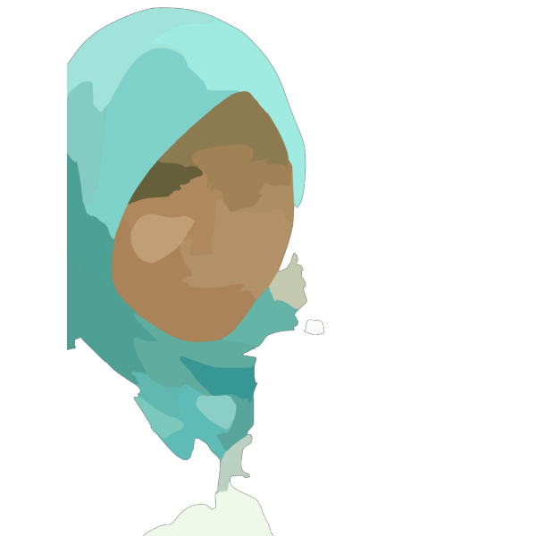Girl Wearing Hijab PNG Clip art