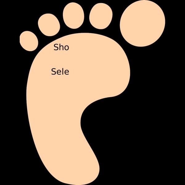 Foot Outline PNG Clip art