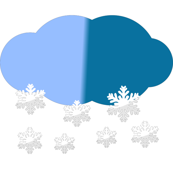 Snow Clouds PNG Clip art