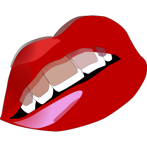 Red Lips Kiss PNG images