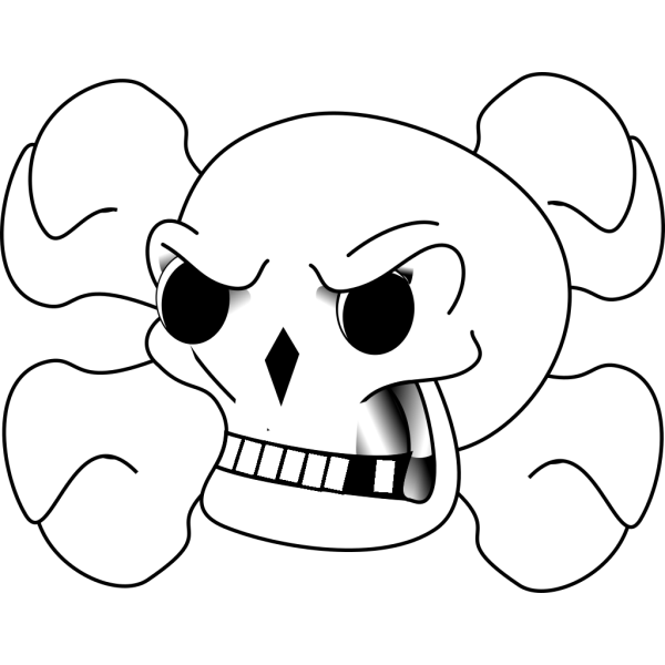 Skull For Aidens Room PNG Clip art