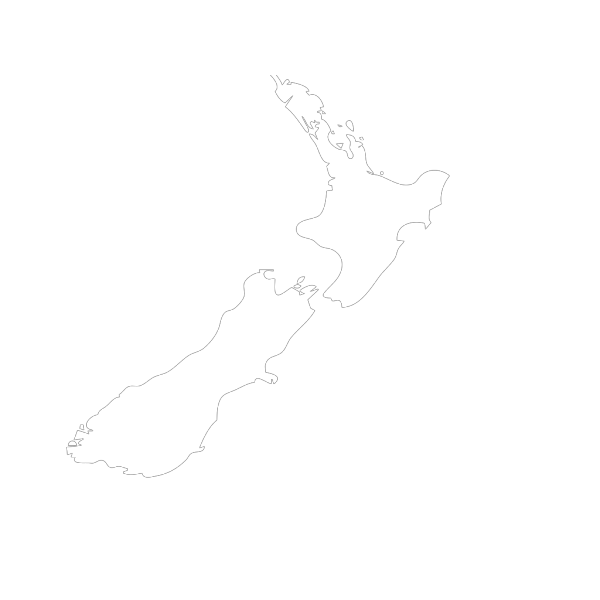 New Zealand Map Illustration PNG images