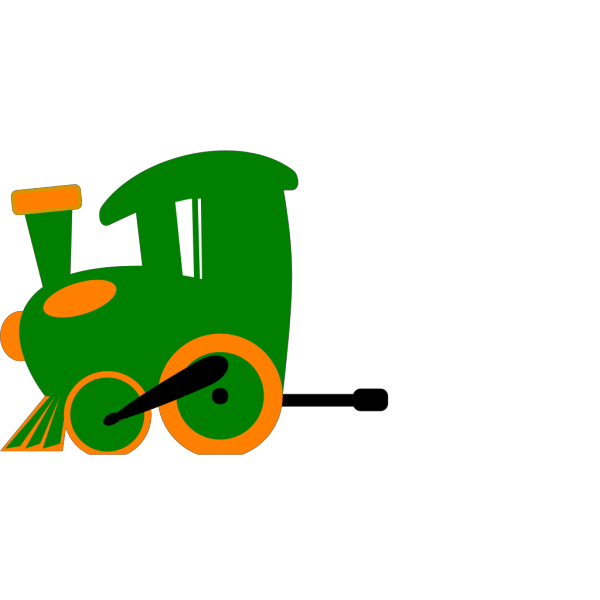 Toot Toot Train Mk2 PNG Clip art
