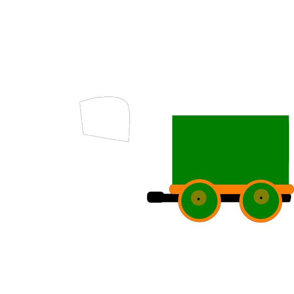 Toot Toot Train And Carriage Mk 3 PNG Clip art