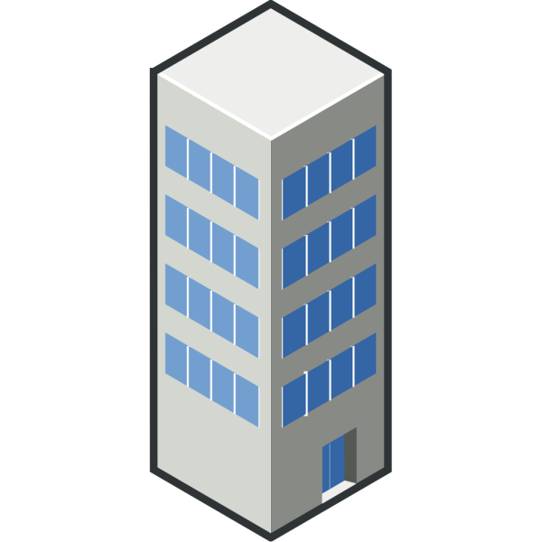 Isocity Blue Tower Ii PNG images