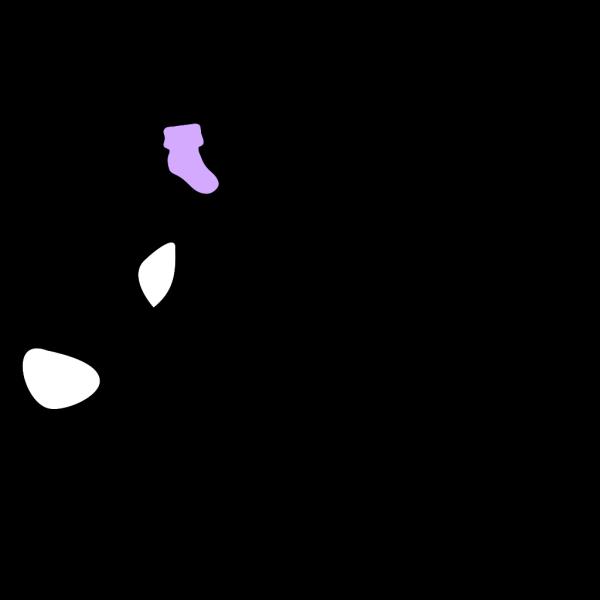 Purple Bootie PNG Clip art