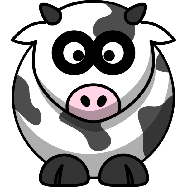 Stodgy Cow PNG Clip art