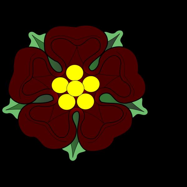 Official Tudor Rose PNG Clip art