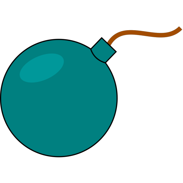 Small Bomb  PNG Clip art