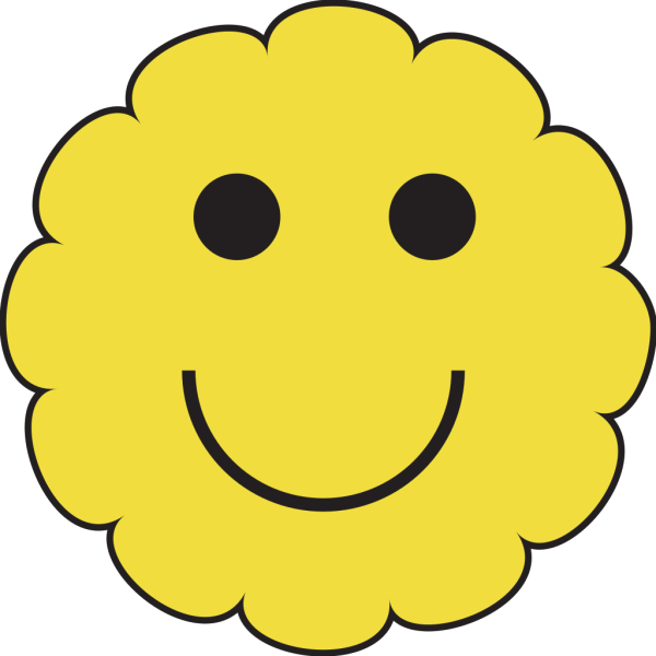Sunny Smiley Face PNG Clip art