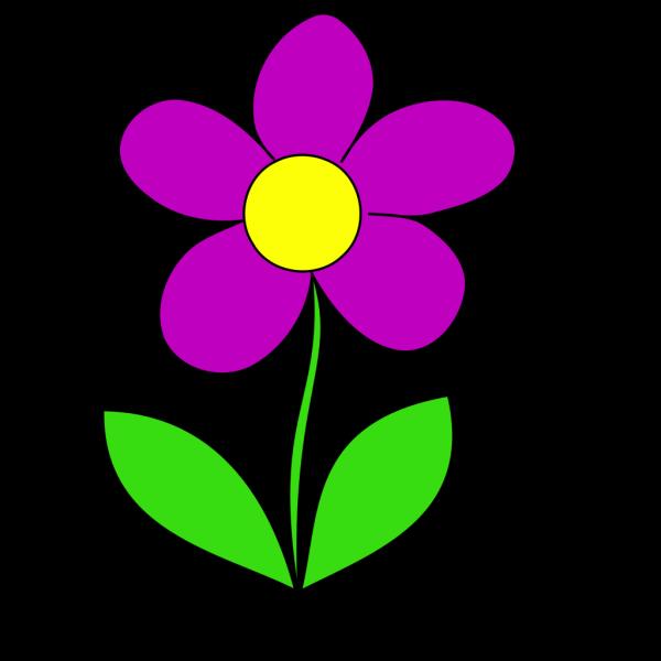 Purple Flower PNG Clip art