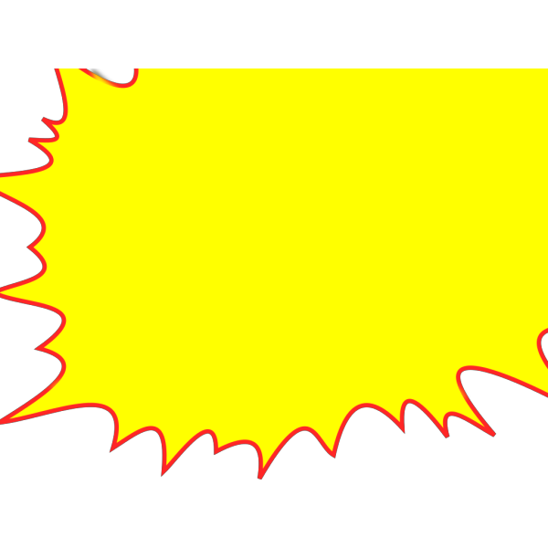 Simple Burst PNG Clip art