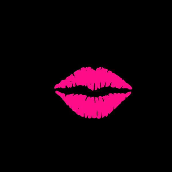 Hot Pink Lips PNG Clip art