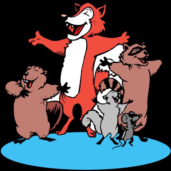 Singing Animals PNG Clip art