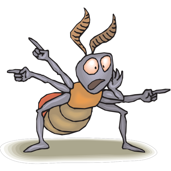 Ant Pointing PNG Clip art