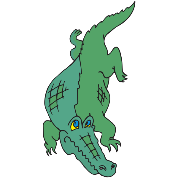 Alligator Cartoon PNG Clip art
