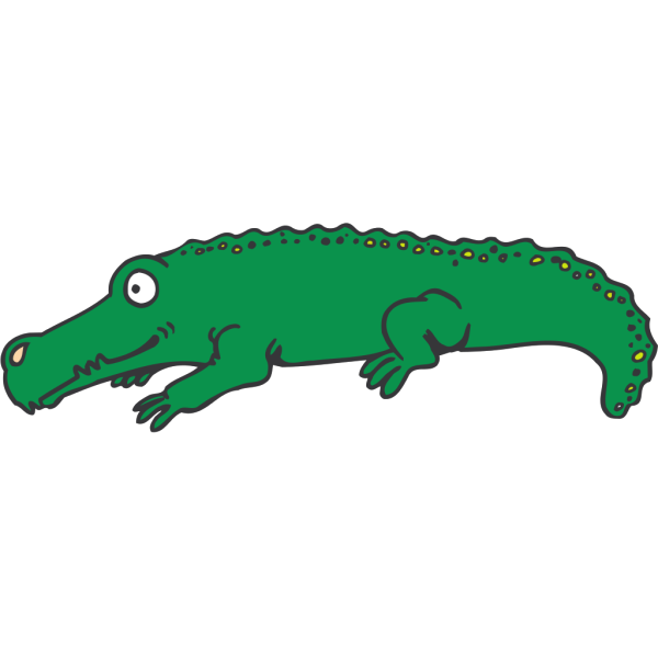 Cartoon Alligator PNG Clip art