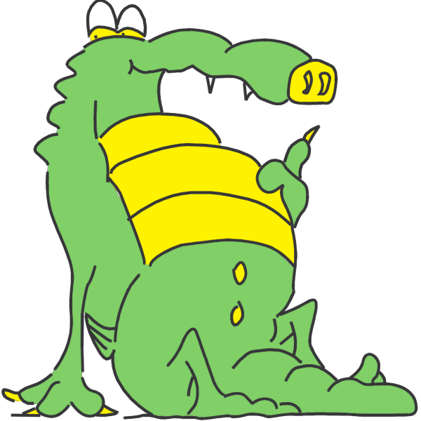 Full Alligator PNG Clip art