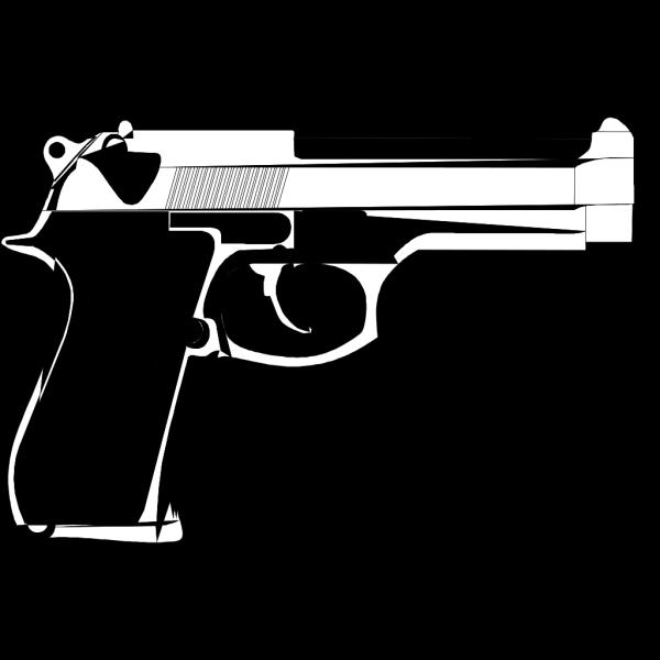 9mm Hand Gun Tattoo PNG images