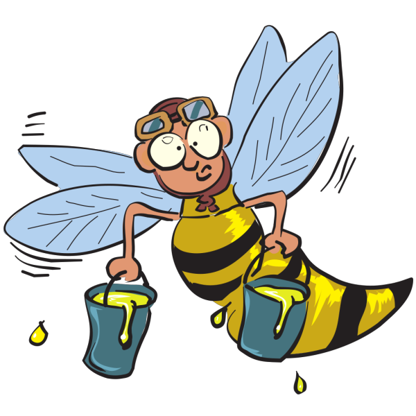 Buzy Honey Bee PNG images