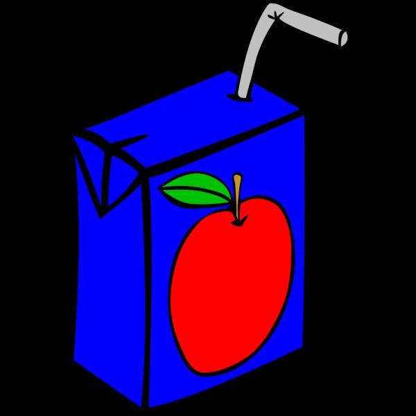 Apple Juice Box PNG Clip art