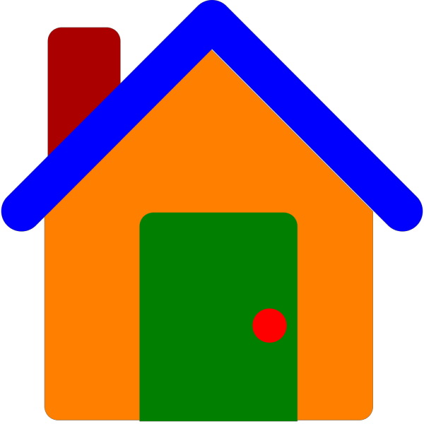 Colorfulhouse PNG Clip art
