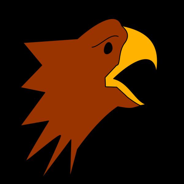 Cartoon Eagle Head PNG Clip art