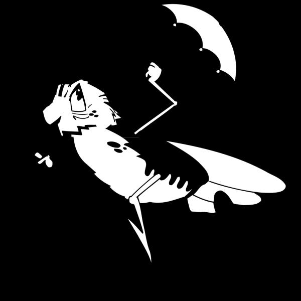 Bug With Umbrella PNG Clip art