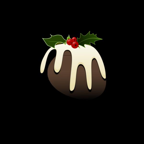 Christmas Pudding PNG Clip art