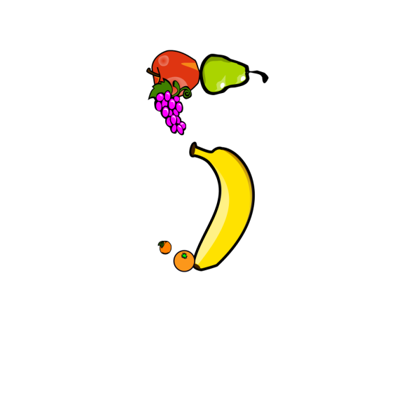 Five A Day PNG Clip art