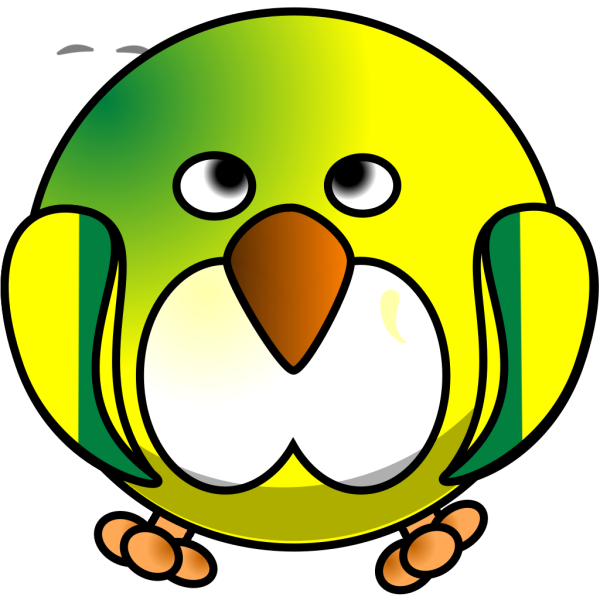 Round Bird PNG images