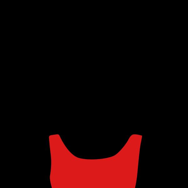 Red Dress PNG Clip art