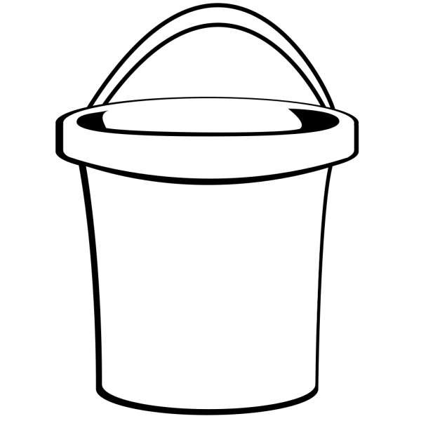 Bucket With Handle PNG Clip art
