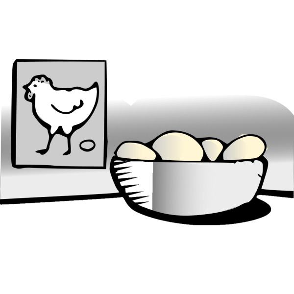 Eggs In Nest PNG Clip art