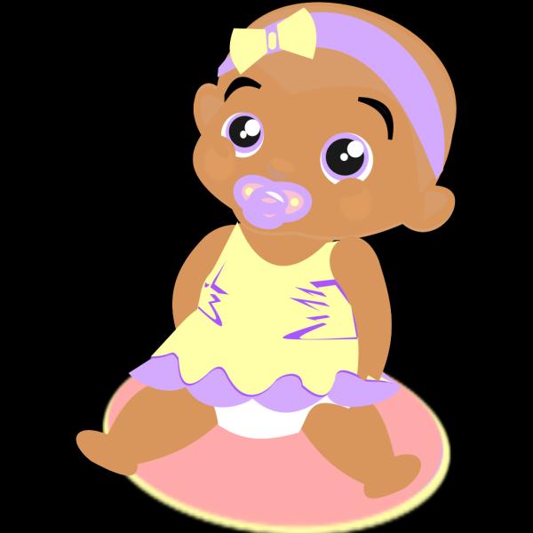 Purple Baby Dinosaur PNG Clip art