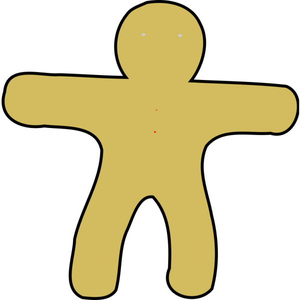 Gingerbread Man PNG Clip art