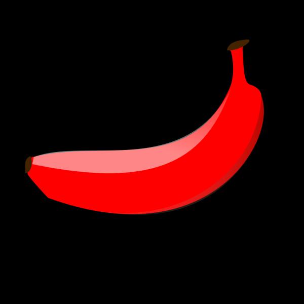 Red Banana PNG Clip art