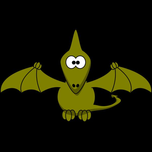 Cartoon Pterodactyl  PNG Clip art