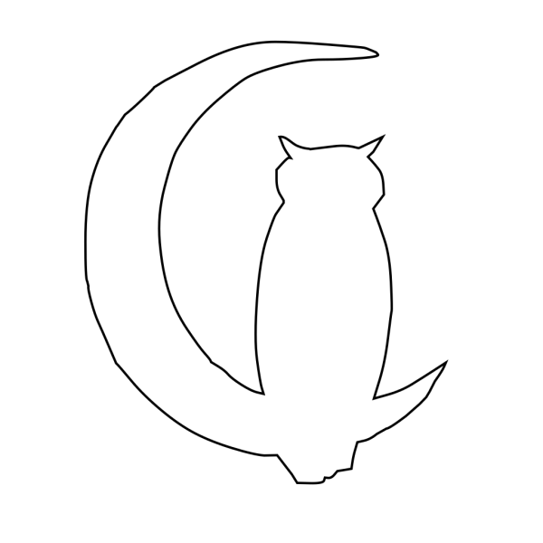 Owl Moon 5 PNG images