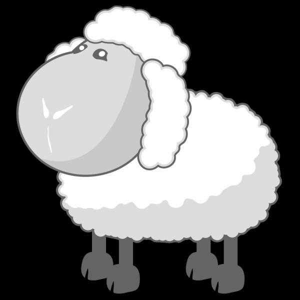 Chibi Sheep PNG Clip art